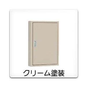 B12-414C 日東工業 盤用キャビネット(露出形)[木製基板付]・クリーム色(400×1400×120、片扉)|nagamono-taroto