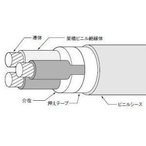 CV22SQ×3芯(600V)|nagamono-taroto