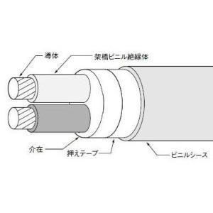 CV2SQ×2芯(600V)|nagamono-taroto