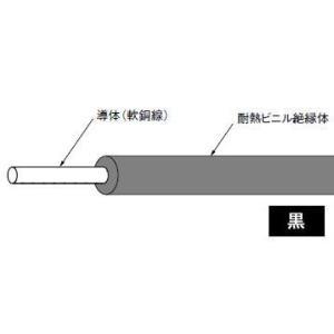 HIV1.6mm(長さ300m、黒色)|nagamono-taroto