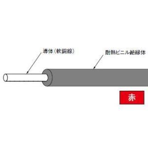 HIV1.6mm(長さ300m、赤色)|nagamono-taroto