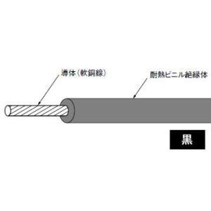 HIV5.5SQ(長さ300m、黒色)|nagamono-taroto