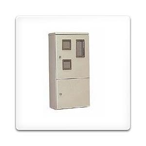 HVP-5LPCB 日東工業 ペデスタルボックス[木製基板付]・ライトベージュ色(700×1000×250、片扉)|nagamono-taroto