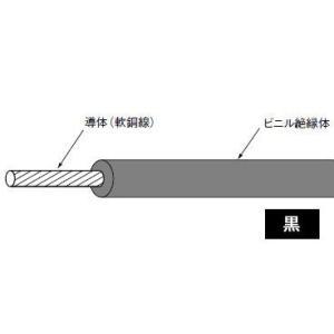 IV1.25SQ(長さ300m、黒色)|nagamono-taroto