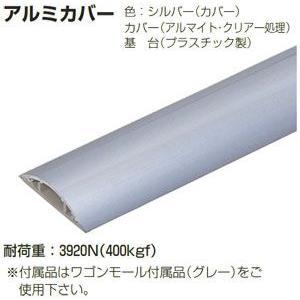 OP10-2A 未来工業 ワゴンモール(アルミ)(2m) nagamono-taroto