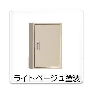 T-30R 日東工業 電話用保安器キャビネット(露出形)・保安装置スペースなし[木製基板付]・ライトベージュ色(600×800×120、片扉)|nagamono-taroto
