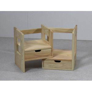 日本製 ひのきスライド本立て小物入れ 23.5-42cm幅|naganoscom