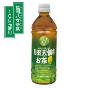 日田天領水のお茶500ml(24本入)|nagaranoshuhan