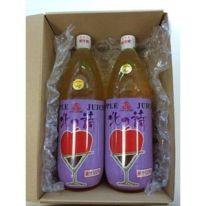 ストレートジュース ギフトセットB 【りんごジュース 長尾りんご園産ふじりんご使用】|nagashimastore7