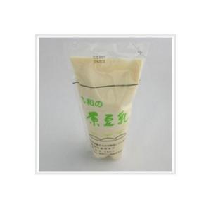 『クール便』 【豆乳】 国産大豆100%、消泡剤不使用。豆乳濃度が非常に高く、すっきり、甘味のある豆乳です。|nagashimastore7
