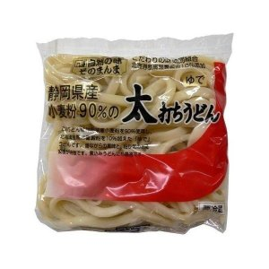 『クール便』 静岡小麦の茹太うどん|nagashimastore7