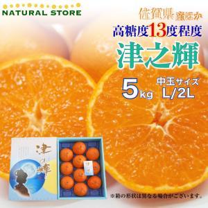 津の輝 5キロ 2L Lサイズ佐賀県産 長崎県産 つのががやき お取り寄せフルーツ 柑橘 津の輝き つのかがやき 高級オレンジ|nagashimastore7