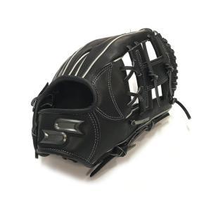 野球 軟式グローブ SSK エスエスケイ プロエッジ 内野手用 PEN-34519F(ブラック) 高...