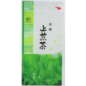 【上】有機上煎茶(リーフ)100g Choice organic sencha steeped tea|nagata-chaen