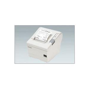EPSON レシートプリンター TM-T88V (EthernetLAN/80mm/クールホワイト/電源別売) イーサネット接続|nagatsuna