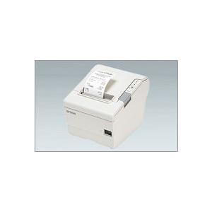 EPSON レシートプリンター TM-T88V (EthernetLAN/PS180+AC170電源付属/58mm/クールホワイト) イーサネット接続|nagatsuna