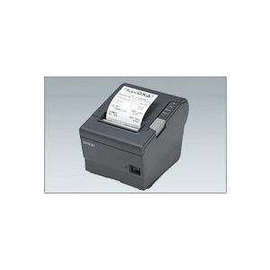 EPSON レシートプリンター TM-T88V (EthernetLAN/80mm/ダークグレー/電源別売) イーサネット接続|nagatsuna