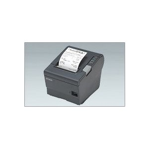 EPSON レシートプリンター TM-T88V (USB/80mm/ダークグレー/電源別売) USB接続|nagatsuna