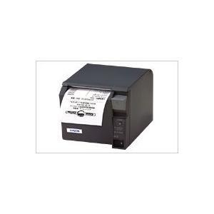 EPSON レシートプリンター TM-T70 (EthernetLAN/PS180+AC170電源付属/80mm/ダークグレー) イーサネット接続|nagatsuna