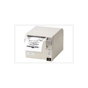EPSON レシートプリンター TM-T70 (シリアル/PS180+AC170電源付属/80mm/クールホワイト) シリアル接続|nagatsuna