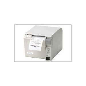 EPSON レシートプリンター TM-T70 (無線LAN/PS180+AC170電源付属/58mm/クールホワイト) 無線LAN接続|nagatsuna