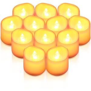 LED キャンドル 12個セット ライト ろうそく 蝋燭 おしゃれ クリスマス 結婚式 誕生日 室内 室外 飾り インテリア ろうそく型 LEDライト ランタン nagomi-company