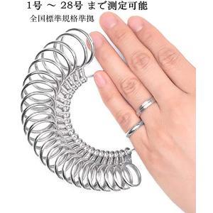 リングゲージ 1号-28号対応 指輪 ゲージ 指輪サイズ 測れる 指の太さをはかる リング サイズゲージ日本標準規格 nagomi-company