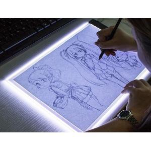 トレース台 A4 LED usb 薄型 トレースパネル 製図 写経 アニメ 製図 漫画|nagomi-company
