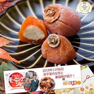 和菓子 岐阜 プレゼント 御礼 お配り ギフト 良平堂 / 栗福柿 / 良平堂 (6入箱)