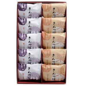 和菓子 きんつば10個詰(粒5・栗5)
