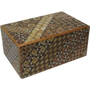 箱根寄木細工5寸秘密箱(10回)