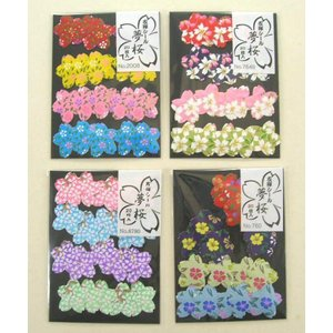 夢桜シール 20枚入り 4種類セット|nagomi2006