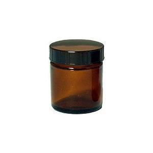 茶色ガラス・クリーム容器 50ml