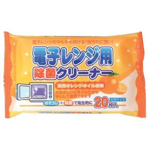 電子レンジ用除菌クリーナー20枚入りx120パック ペーパーテック|nagomishop