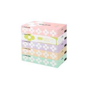 箱ティッシュ まとめ買い ネピア ネピネピティシュ160W 5箱X12P 王子製紙ネピア nagomishop