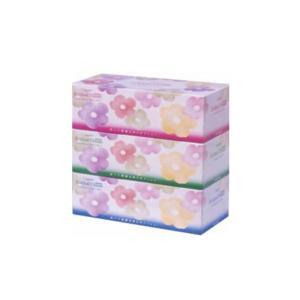 箱ティッシュ まとめ買い エルモア ローションティシュー200W 3箱X10P カミ商事エルモア nagomishop