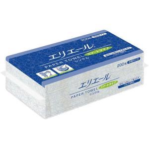 ペーパータオル 業務用 大王製紙 エリエールスマート 中判 200枚X30P まとめ買い 送料無料|nagomishop