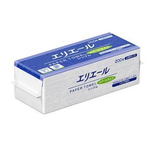 ペーパータオル 業務用 大王製紙 エリエールスマート 小判 200枚X42P まとめ買い 送料無料|nagomishop