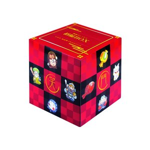 販促用 贈答用 粗品 景品 箱ティッシュ 開運サイコロティッシュ70W 100個 まとめ買い 送料無料 年末年始 nagomishop