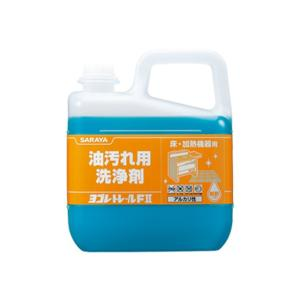 業務用油汚れ用洗浄剤 サラヤ ヨゴレトレールF2  5kgX3本 nagomishop