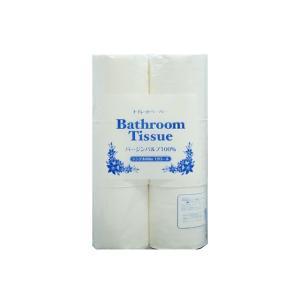 トイレットペーパー まとめ買い 林製紙バスルームティシュー シングル60M 12RX8P|nagomishop