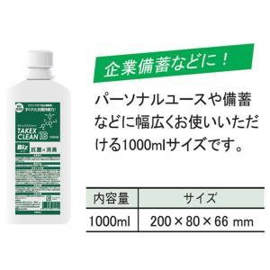 除菌 消毒 ウイルス予防 食中毒予防 タケックスクリーンBiz 1LX12本 竹の力がウイルスを強力除去 nagomishop