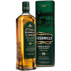 ブッシュミルズ シングルモルト 10年/アイリッシュウイスキー 正規品 40度 700ml|nagoya-8848
