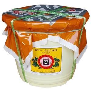 赤だし味噌 特選 8Kg 業務用 ポリ容器入り/カクキュー|nagoya-8848