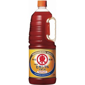 うすくちしょうゆ 1.8L ペット/ヒガシマル醤油|nagoya-8848