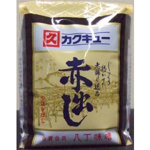 カクキュー 赤だし味噌 やはぎばし 1Kg ガセットタイプ|nagoya-8848