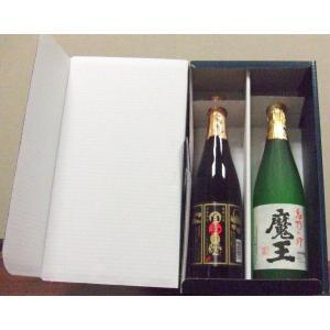 魔王・白玉の露 芋焼酎 720ml×2本飲み比べセット 簡易箱入/白玉醸造|nagoya-8848