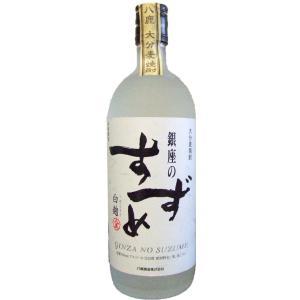 麦焼酎 銀座のすずめ 白麹 720ml 25度/八鹿酒造|nagoya-8848