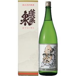 蓬莱泉 日本酒 「可」(べし) 特別純米 1800ml/愛知県 関谷醸造 nagoya-8848