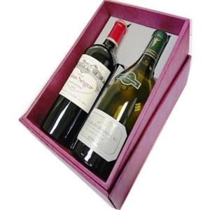 ワイン専用 ギフトボックス(贈答用の箱)/2本用 特製紙箱 750ml×2ボトル用|nagoya-8848